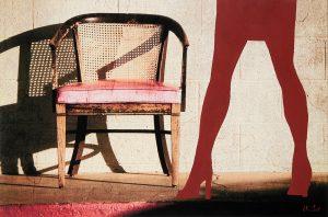 Red Chair - Fotokunst Kunstfotografie Ruth Kasper Stuttgart Karlsruhe Pforzheim